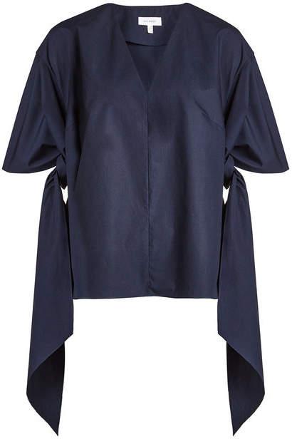 DELPOZO Bow Shirt