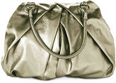 Metallic Pleated Bag
