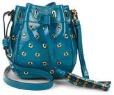 RED Valentino Women's Eyelet Patent Leather Bucket Bag