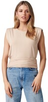 Thumbnail for your product : Forever New Astrid Clinched Waist Tank Lt