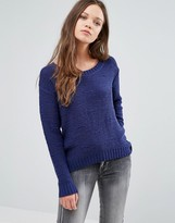 Ichi Open Knit Sweater