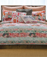 Tracy Porter Franny Reversible Floral Stripe King Quilt