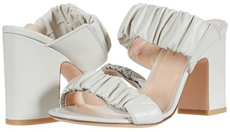 AGL Ruffle Sandal (Off-White) Women's Shoes