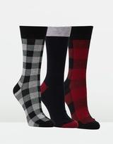 Ben Sherman Pinza 3 Pack Socks