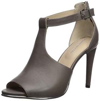 Kenneth Cole New York Women's Brylie Peep Toe T-Strap Dress Sandal Heeled