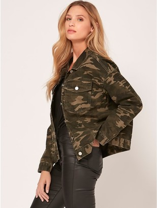 M&Co Camo denim jacket
