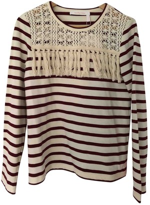 See by Chloe Red Cotton Top for Women