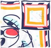 Henrik Vibskov Cheeky Cheek printed scarf
