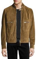 Tom Ford Café Biker Suede Jacket