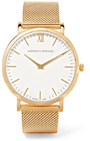 Larsson & Jennings Lugano Gold-plated Watch - one size