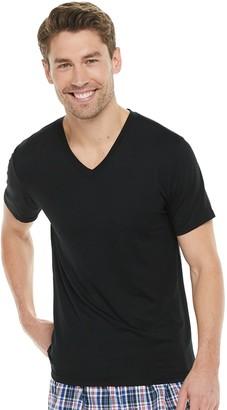 Gildan Men's 3-Pack Platinum Modal V-Neck Tees