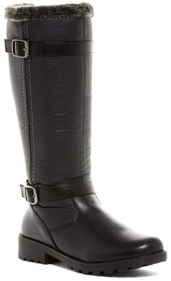 Aquatherm By Santana Canada Blair Waterproof Faux Fur Tall Boot