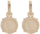 Versace Coin-drop earrings