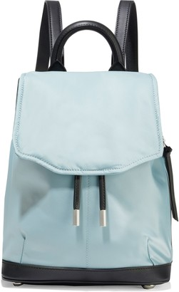 Rag & Bone Pilot Mini Leather-trimmed Shell Backpack