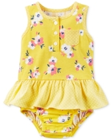 Carter's Cotton Floral-Print Skirted Sunsuit, Baby Girls (0-24 months)