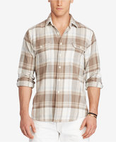 Polo Ralph Lauren Men's Big & Tall Plaid Western Shirt