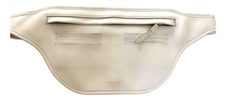 Burberry Bum Bag Grey Leather Bags