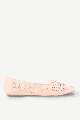 Ardene Faux Leather Cutout Flats