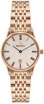 Dreyfuss & Co Ladies' Gold-plated White Dial Bracelet Watch