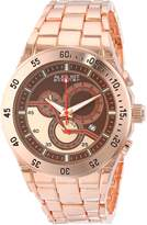 August Steiner Men's AS8083RG Analog Display Swiss Quartz Rose Gold Watch