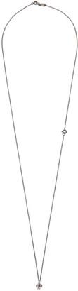 Ugo Cacciatori Silver Tiny Clover Necklace