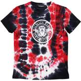 Balmain Tie Dyed Cotton Jersey T-Shirt