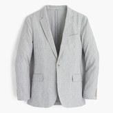 J.Crew Ludlow summerweight cotton-linen blazer in fine stripe