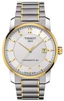 Tissot Men's T-Classic P80 Automatic Two-Tone Bracelet Watch, 40mm