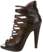 Alaia Platform Caged Sandals