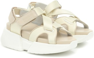 MM6 MAISON MARGIELA Leather platform sandals