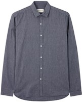 Oliver Spencer Clerkenwell Navy Chambray Shirt