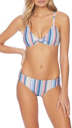 Splendid Holding Pattern Crop Bikini Bra