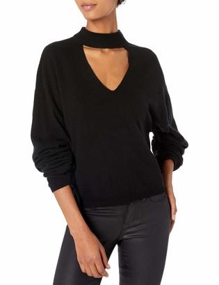 Ramy Brook Women's Kaleb Choker Detail Sweater