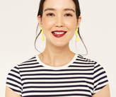Oasis Powder Coated Drop Earrings