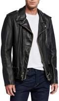 Schott NYC Men's Aged Cowhide Leather Jacket