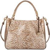 Brahmin Ruby Rose Gold Bourdelle Medium Shoulder Bag