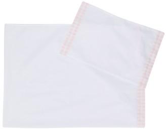 Il Gufo plaid hem towel pack
