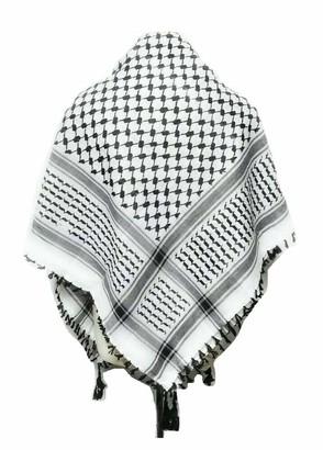 Al Ittihaf Authentic - New Arab - Yasser Arafat Palestinian - Shemagh - Keffiyeh Scarf Men Palestine Arafat Scarf Mens Shemagh Checkered Scarf Men/Women Arab Shemagh Kafiya Many Colours