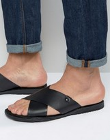 Base London Hector Leather Sandals