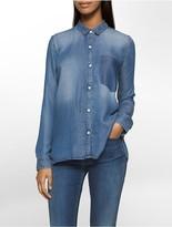 Calvin Klein Indigo Chambray Shirt