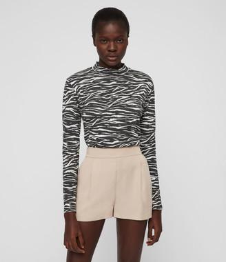 AllSaints Alva Low-Rise Shorts