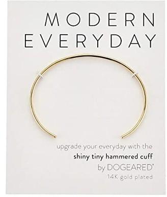 Dogeared Modern Everyday, Hammered Cuff Bracelet