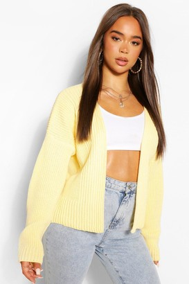 boohoo Edge To Edge Crop Cardigan