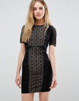 WYLDR Wyldr Lace Dress With Contrast Lining