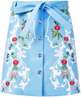Vivetta floral mini skirt