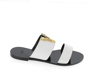 Versace Virtus Slip-On Sandals