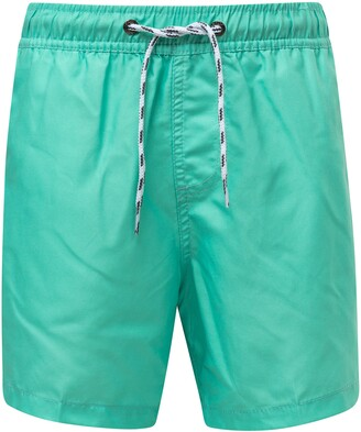 Snapper Rock Mint Hybrid Swim Trunks