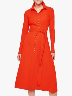 Damsel in a Dress Lanie Military Dress, Orange