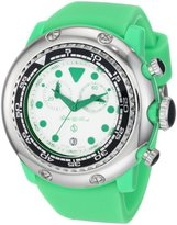 Glam Rock Women's GR20131 Miami Beach Chronograph White Dial Silicone Watch