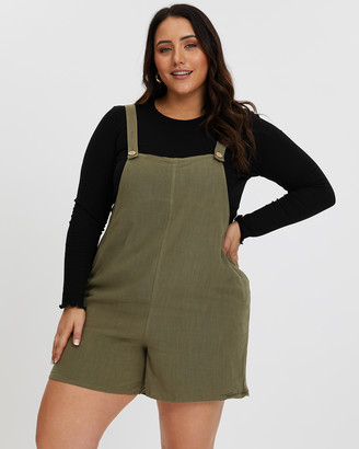 You & All Button Front Playsuit